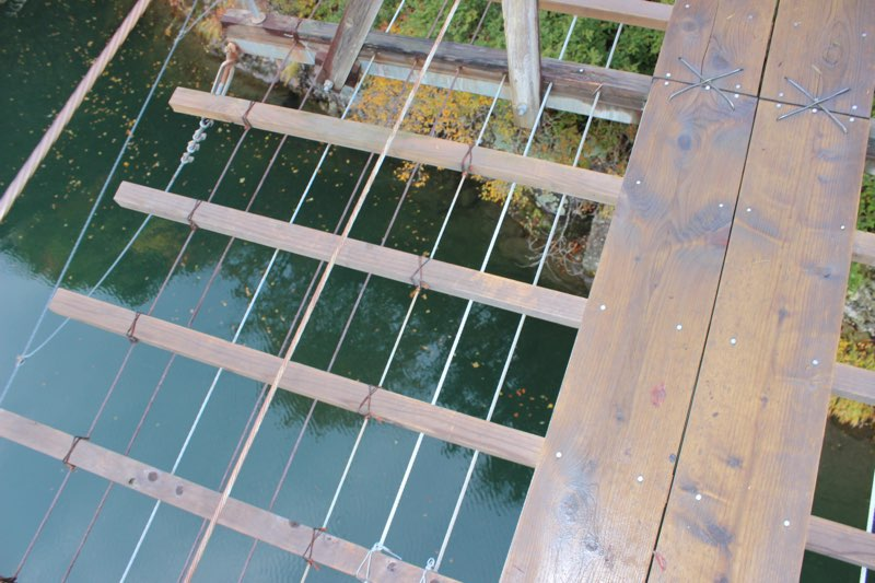 美肌温泉手帖 紅葉 夢の吊り橋